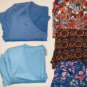 Lularoe Women's Bundle 5 pieces leggings Perfect